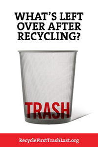 Recycle Campaign Poster